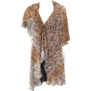 Kimono Leopard Print One Size